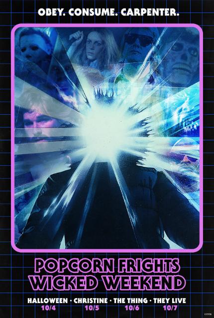 Popcorn Frights Wicked Weekend to Celebrate John Carpenter