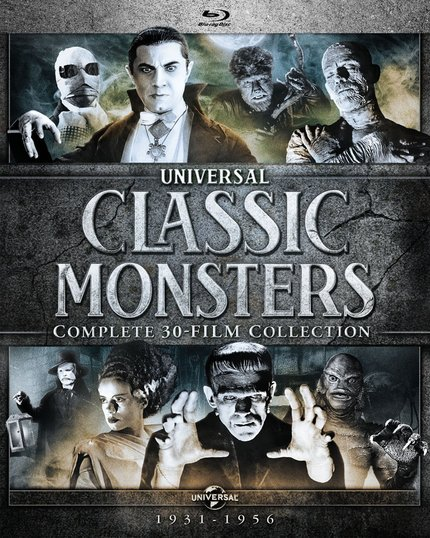 Now On Blu-ray: Win A Copy Of The Massive UNIVERSAL CLASSIC MONSTERS: COMPLETE 30-FILM COLLECTION From Screen Anarchy!