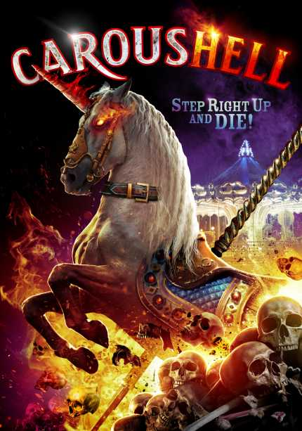 CarousHELL Trailer: A Sentient Carousel Unicorn Gets Stabby in Low Budget Horror Flick