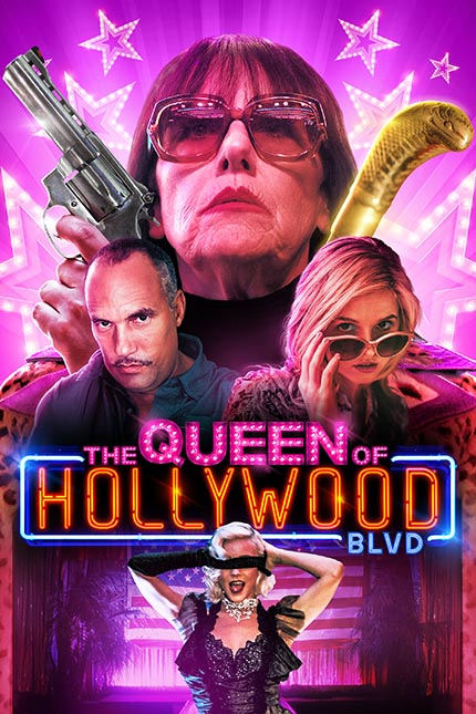 THE QUEEN OF HOLLYWOOD BLVD: Trailer Poster Release Date