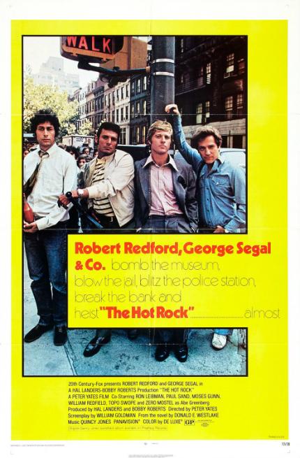 70s Rewind: THE HOT ROCK, Robert Redford, When He Was Still an Actor