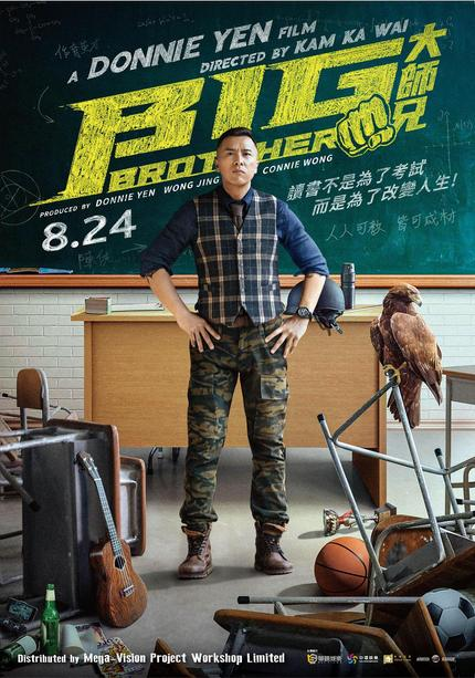 Donnie Yen talks BIG BROTHER, Musicals, Martial Arts Movies, IP MAN 4 and more!