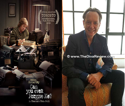 Interview: Richard E  Grant on CAN YOU EVER FORGIVE ME? and the