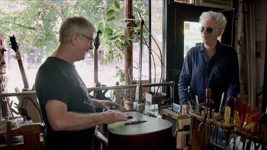 New York 2018 Interview: Jim Jarmusch, Eleanor Friedberger, and Rick & Cindy Talk CARMINE STREET GUITARS