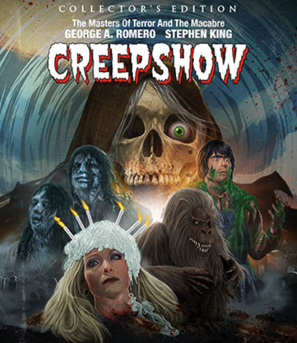 Blu-ray Review: Scream Factory's CREEPSHOW is a Halloween Treat