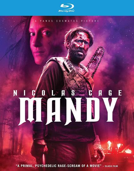 Blu-ray Review: MANDY Now on Home Video of the Mind