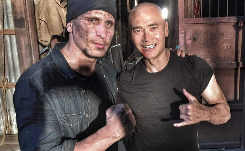 Mark Dacascos And Brahim Achabbakhe Face Off In THE DRIVER