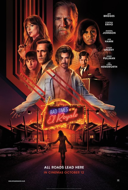 Review: BAD TIMES AT THE EL ROYALE, Crime Thriller With A Split Personality