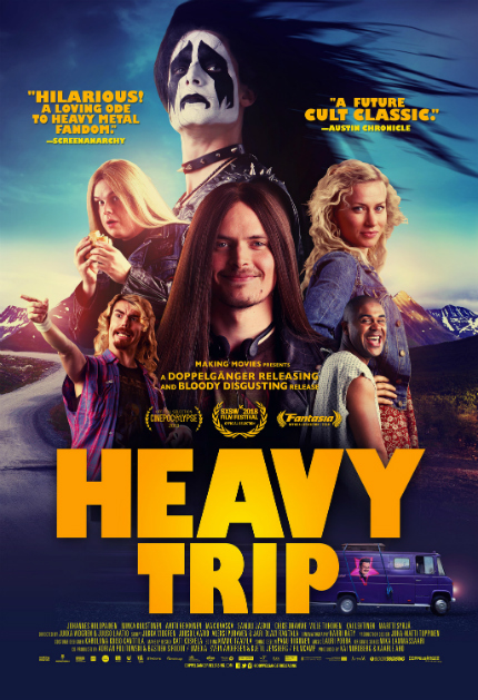 Review: HEAVY TRIP, Sweet, Heavy-Metal Black Comedy