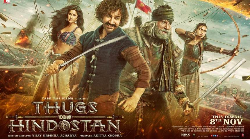 Bollywood's THUGS OF HINDOSTAN Goes Full Pirates Of The Arabian In First Trailer