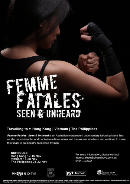 Maria Tran Exploring The World Of Female Kung Fu Stars In FEMME FATALES