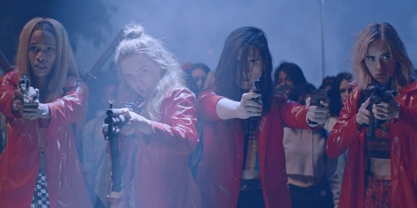 Leiden 2018 Review: ASSASSINATION NATION Guns For Toxic Masculinity, Dishes Out Vengeful Comeuppance