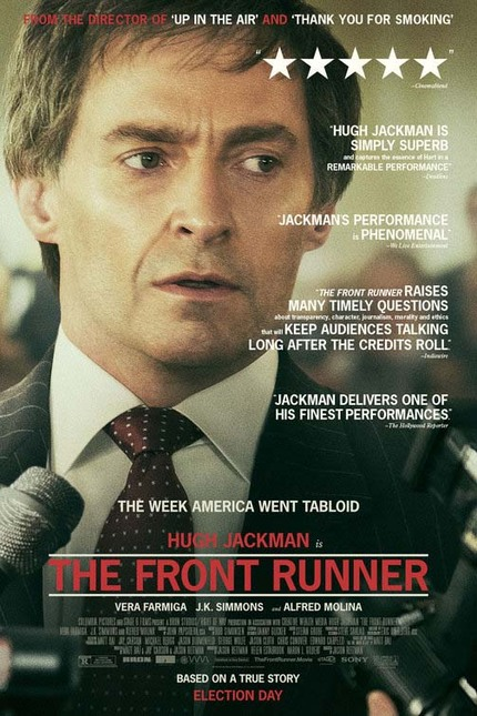 THE FRONT RUNNER Interview: Hugh Jackman and Writers Matt Bai and Jay Carson Navigate Scandal