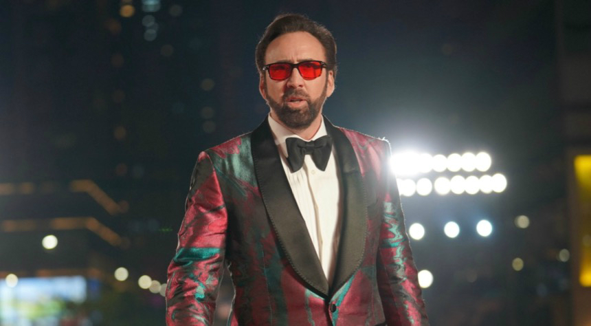 "Nicolas Cage Calls Sion Sono's PRISONERS OF THE GHOSTLAND ""The Wildest Movie I've Ever Made"""