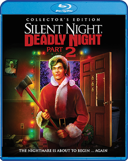 Blu-ray Review: SILENT NIGHT, DEADLY NIGHT 2 Celebrates Garbage Day
