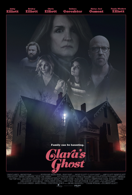 Review: CLARA'S GHOST, Families Don't Always Share Their Apparitions