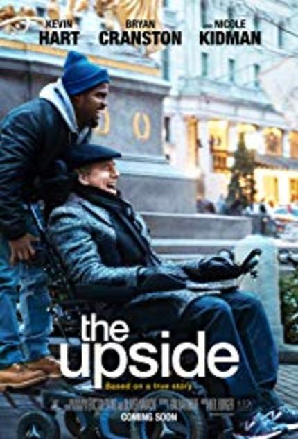 REVIEW: The Upside has a downside...its woefully pat look at an unconventional salt-and-pepper friendship in manipulative mode