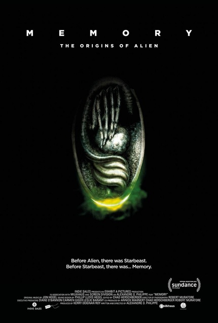 MEMORY - THE ORIGINS OF ALIEN: Poster Debuts For Alexandre O. Philippe's ALIEN Doc