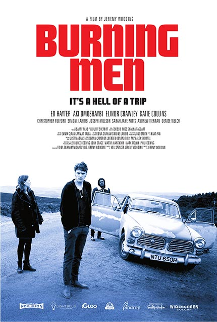BURNING MEN: First Trailer And Poster For British Indie Road Trip Thriller