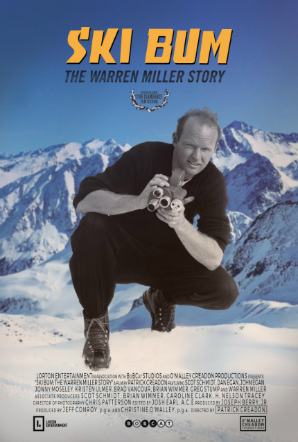 Slamdance 2019: Exclusive SKI BUM: THE WARREN MILLER STORY Clip, Poster
