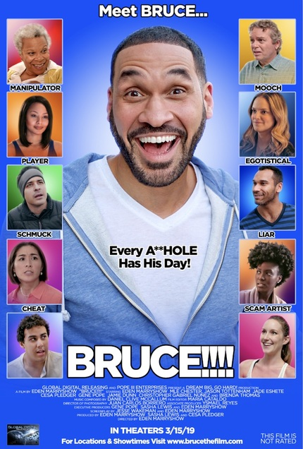 BRUCE!!! Trailer: Everyone's an A**hole in Eden Marryshow's Con Arist Indie