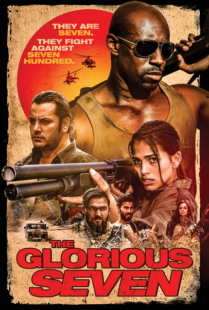 THE GLORIOUS SEVEN: Watch The Official Trailer For Homage to Action Classic(s)
