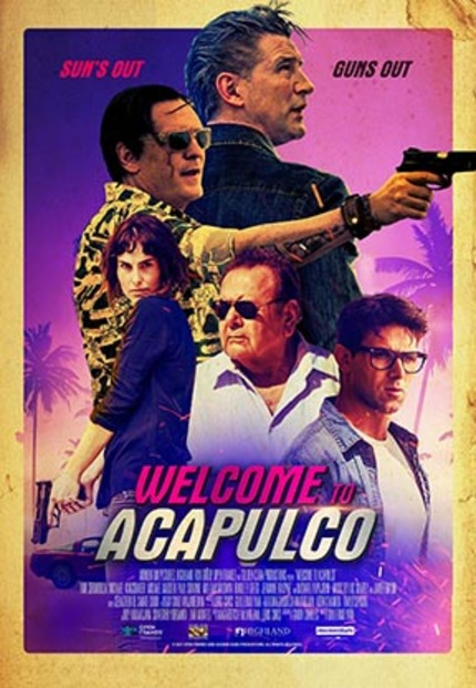 WELCOME TO ACAPULCO Exclusive Clip: Michael Madsen Expresses Displeasure in His Staff's Performance, With Tableware