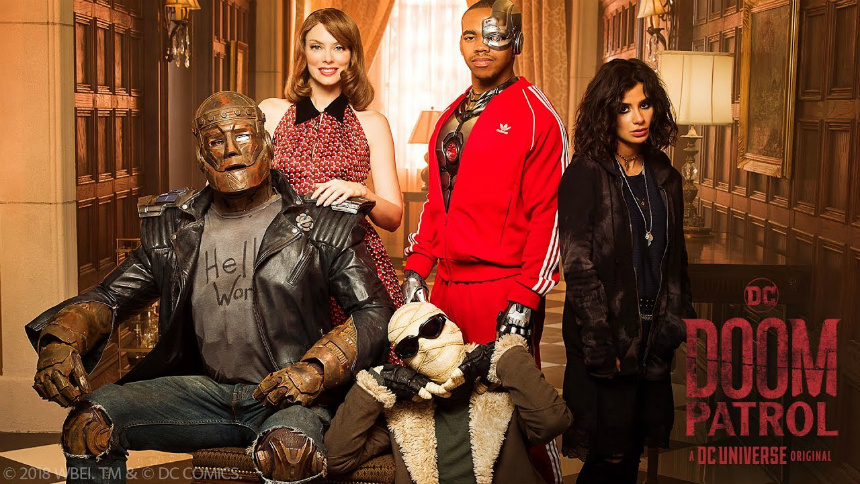 Notes on Streaming: DOOM PATROL Intrigues, THE UMBRELLA ACADEMY Exhausts