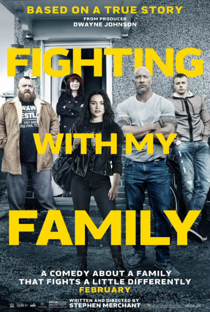 Review: FIGHTING WITH MY FAMILY, Hidden in Plain Sight