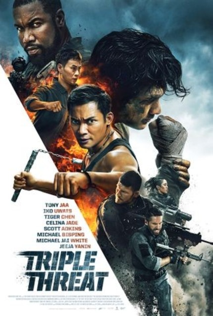 REVIEW: Triple Threat is a martial arts actioner not worth a stinging chop to the creative groin