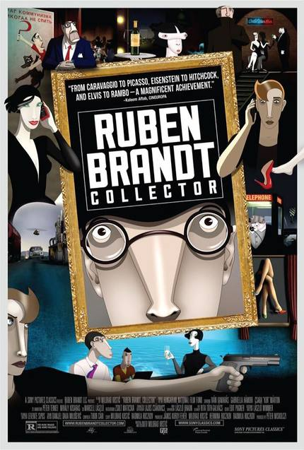 Review: RUBEN BRANDT, COLLECTOR, Animated High-Art Action Caper