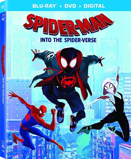 Now on Blu-ray: SPIDER-MAN: INTO THE SPIDER-VERSE Swings Onto Home Video