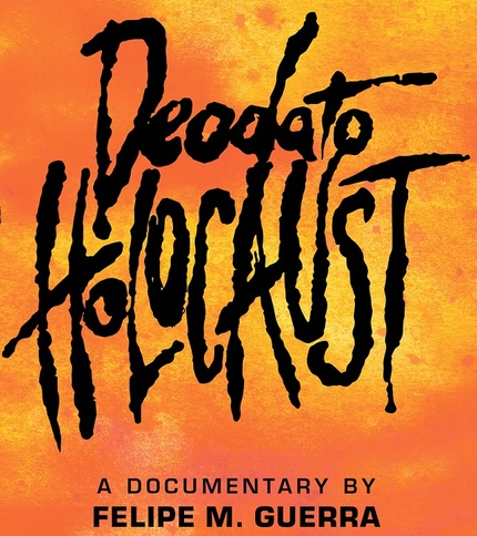 DEODATO HOLOCAUST: Poster And Red Band Trailer Premiere For Doc on CANNIBAL HOLOCAUST's Ruggero Deodato
