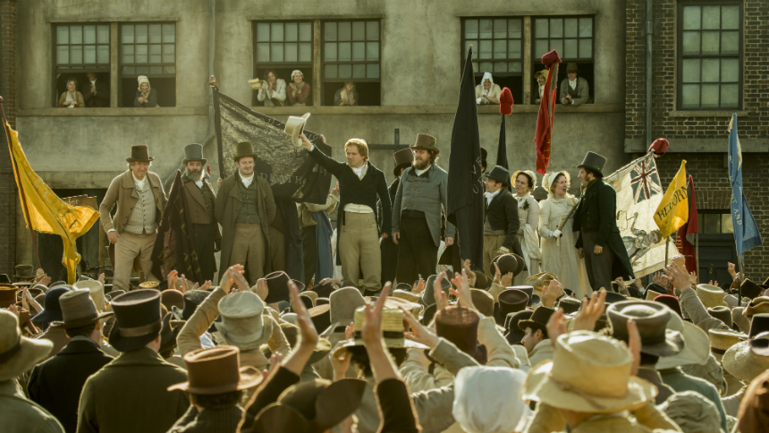 Review: Mike Leigh's PETERLOO, Before the Blood Begins to Flow