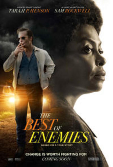 REVIEW: The Best of Enemies is a well-intentional societal period piece drama that serves up an inexplicable flat sermon on racial relations