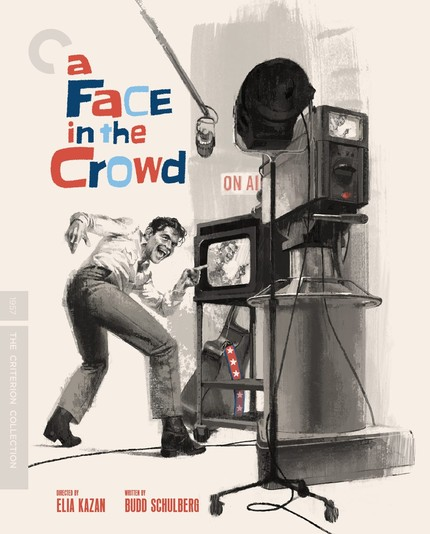 Blu-ray Review: Kazan's Dystopian A FACE IN THE CROWD Is Here!