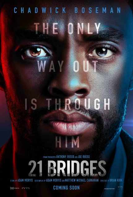 21 BRIDGES Trailer: Chadwick Boseman Acts Like a Perfectly Ordinary Super Cop