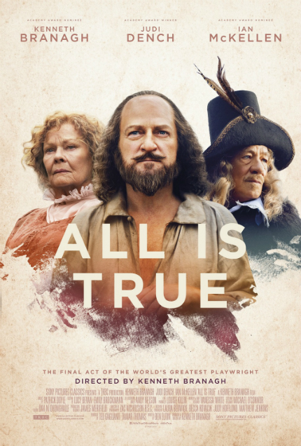 Review: ALL IS TRUE, As The Bard Prepares to Slumber, You May, Too