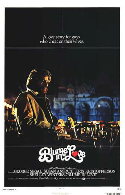 70s Rewind: BLUME IN LOVE, George Segal Seeks Peace, Love, Understanding