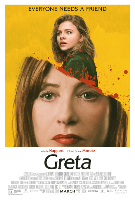 New Genre on VOD: In Neil Jordan's GRETA, Isabelle Huppert Needs a Friend