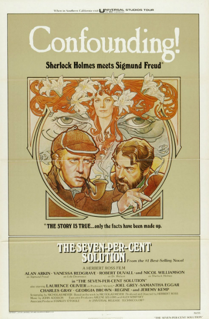 70s Rewind: THE SEVEN-PER-CENT SOLUTION, Reviving Sherlock Holmes