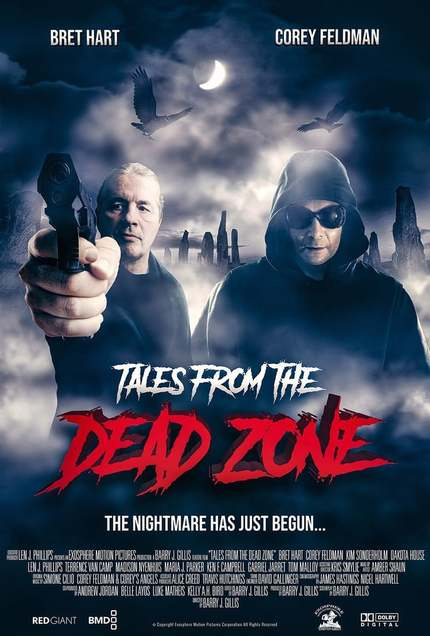 """""""Tales from the Dead Zone"""" starring Corey Feldman and WWE Hall of Famer Bret 'The Hitman' Hart is coming soon!"""