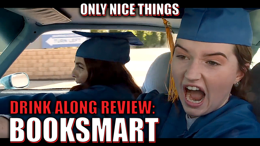 Drink Along Review: Booksmart – Superbad at anything other than studying !
