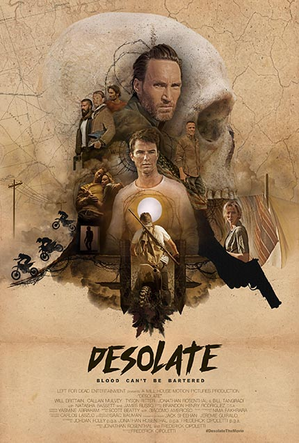DESOLATE: Trailer Premiere For Frederick Cipoletti's Thriller