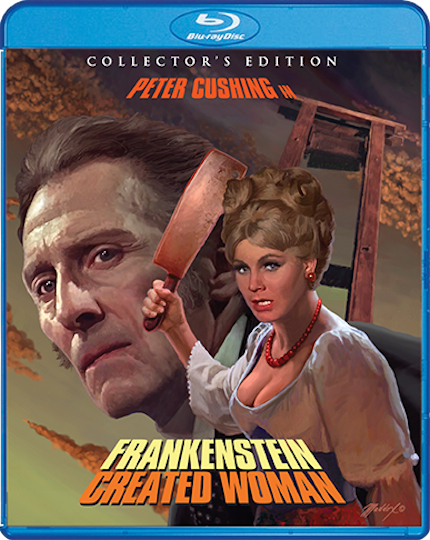 Blu-ray Review: FRANKENSTEIN CREATED WOMAN