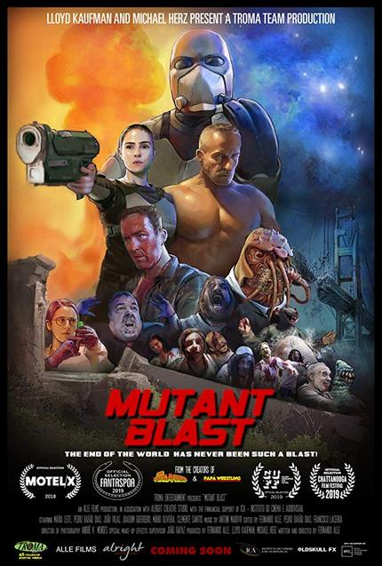 MUTANT BLAST: Watch The Trailer For Portuguese Gorefest From BANANA MOTHERFUCKER Co-director