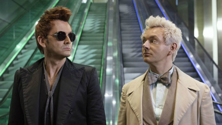 Notes on Streaming: GOOD OMENS Searches for Salvation