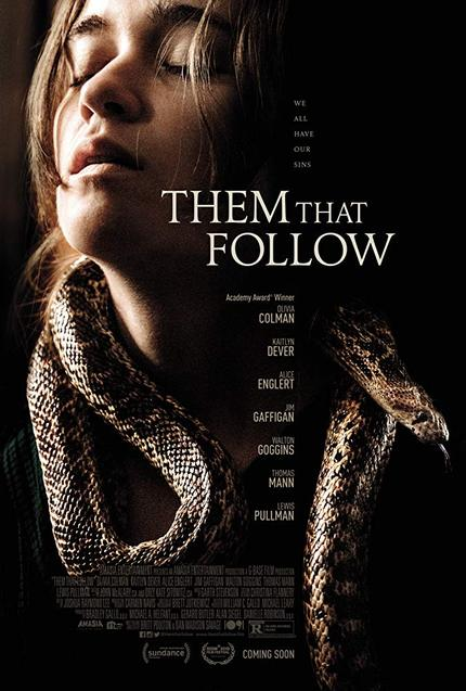 THEM THAT FOLLOW Trailer: Olivia Colman Heads A Family of Snake Handlers in New Horror Film