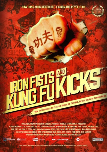 IRON FISTS AND KUNG FU KICKS Teaser: New Doc About The History of Martial Arts Cinema