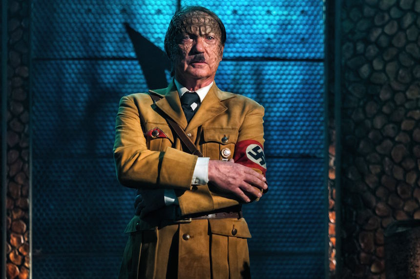 IRON SKY: THE COMING RACE Interview: Udo Kier on Portraying Adolf Hitler and Riding a T-Rex